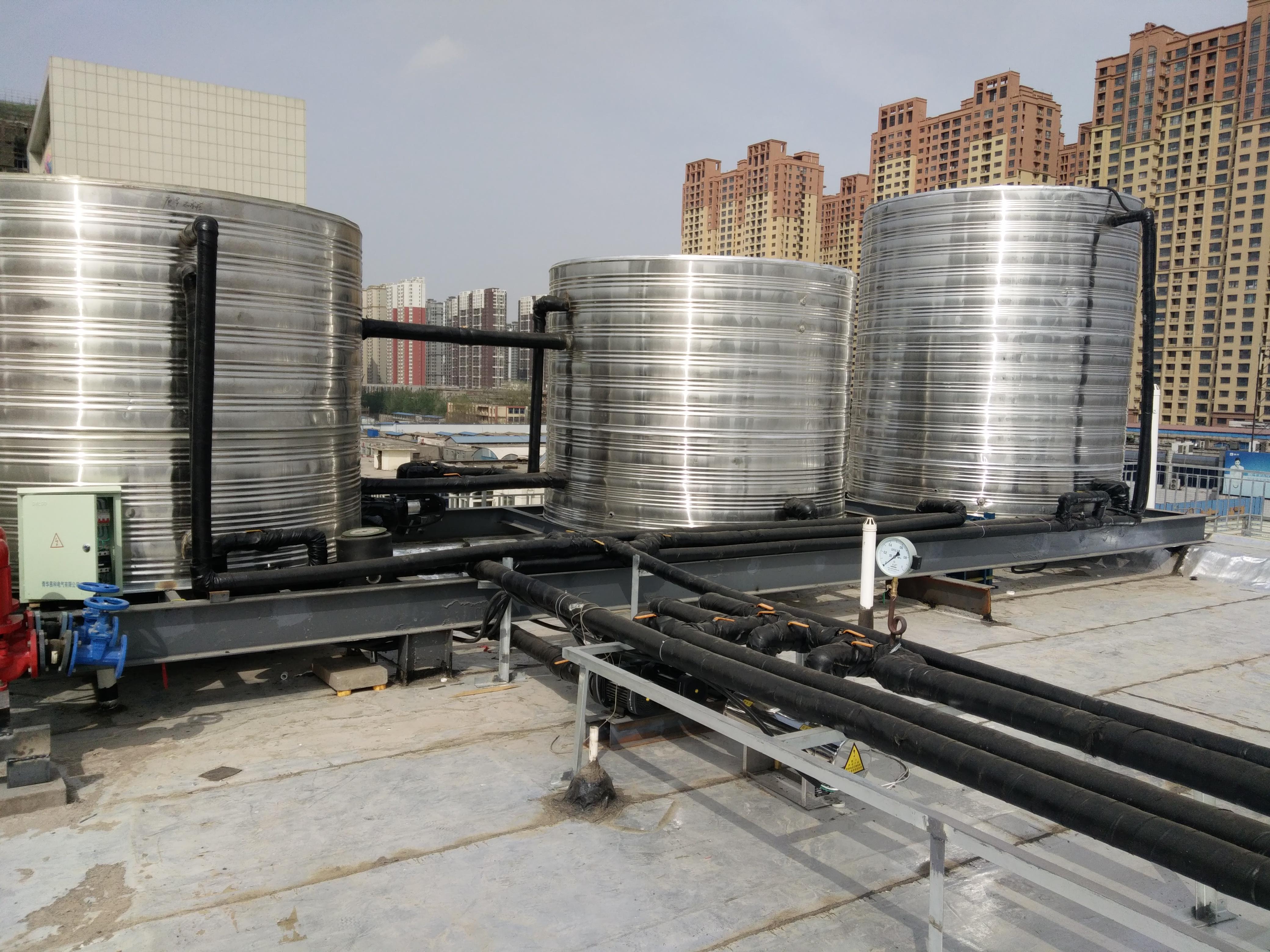 石家庄自建房屋采暖用120平米6P空气源热泵价格