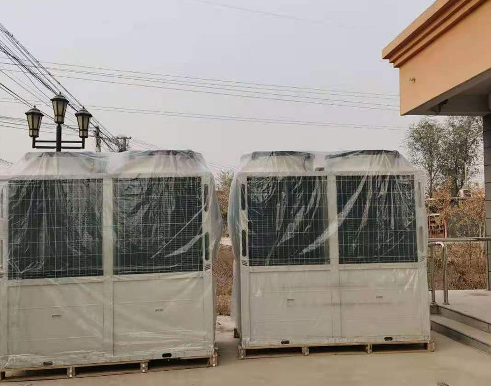 保定清苑,博野小区空气源热泵供暖项目