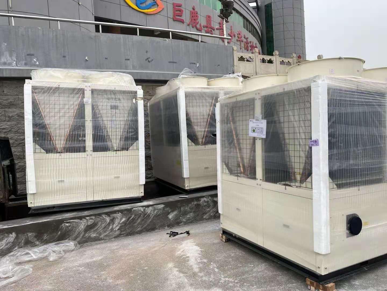 邢台巨鹿文化中心模块机项目
