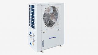 超低温静音型侧出风热泵机组