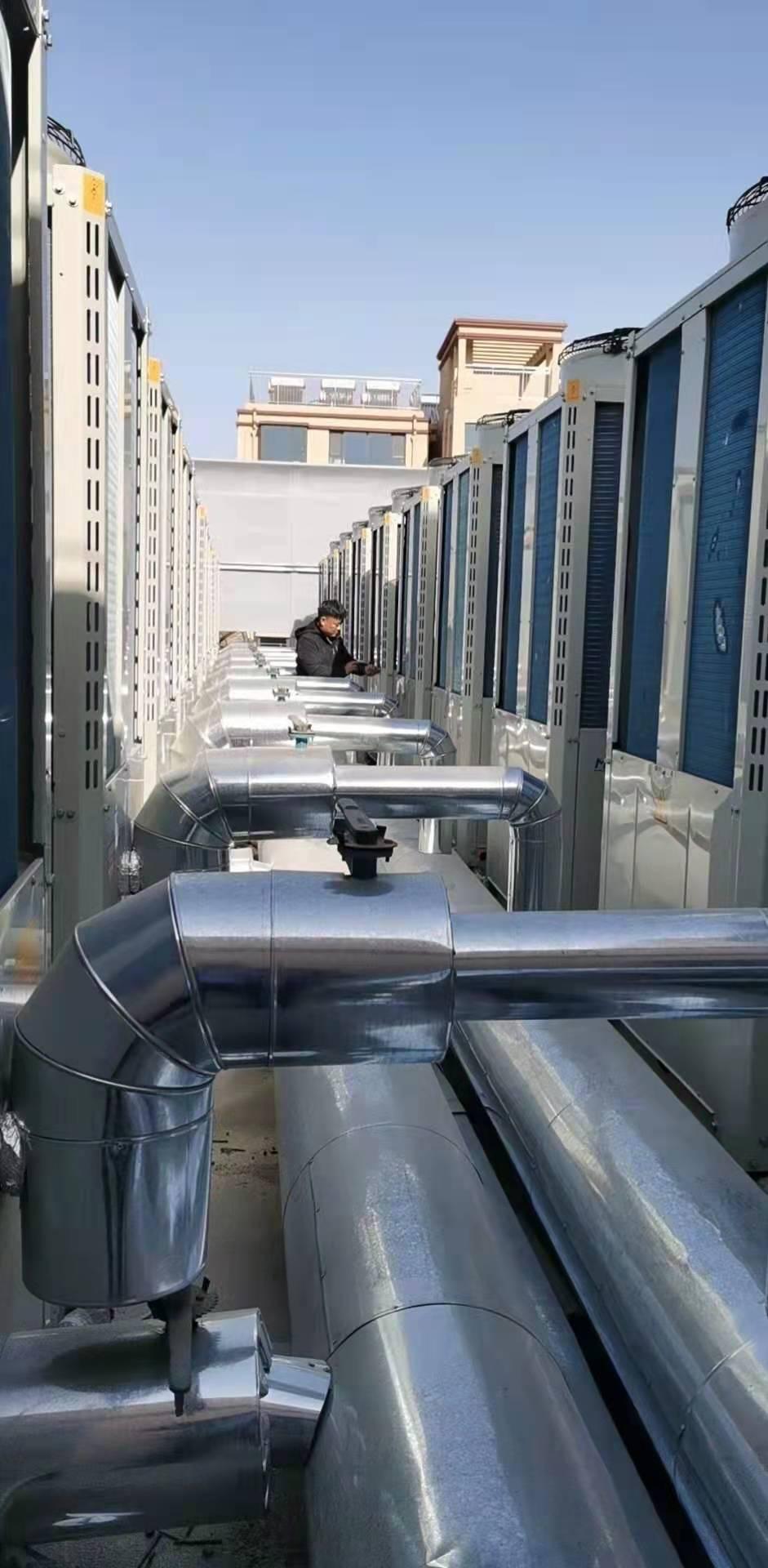 河北石家庄鹿泉空气能热泵小区集中供暖(图3)