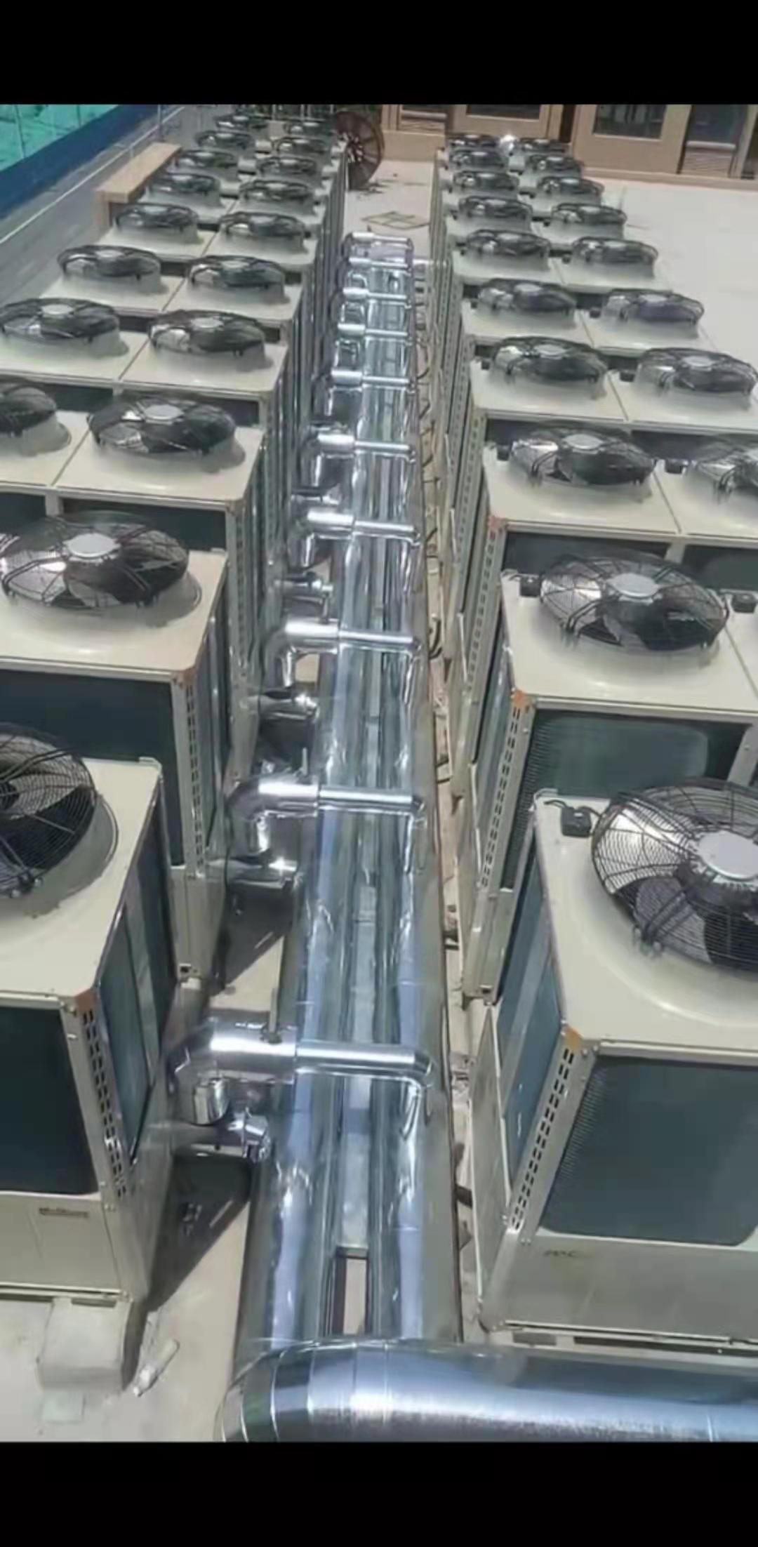 河北石家庄鹿泉空气能热泵小区集中供暖(图2)