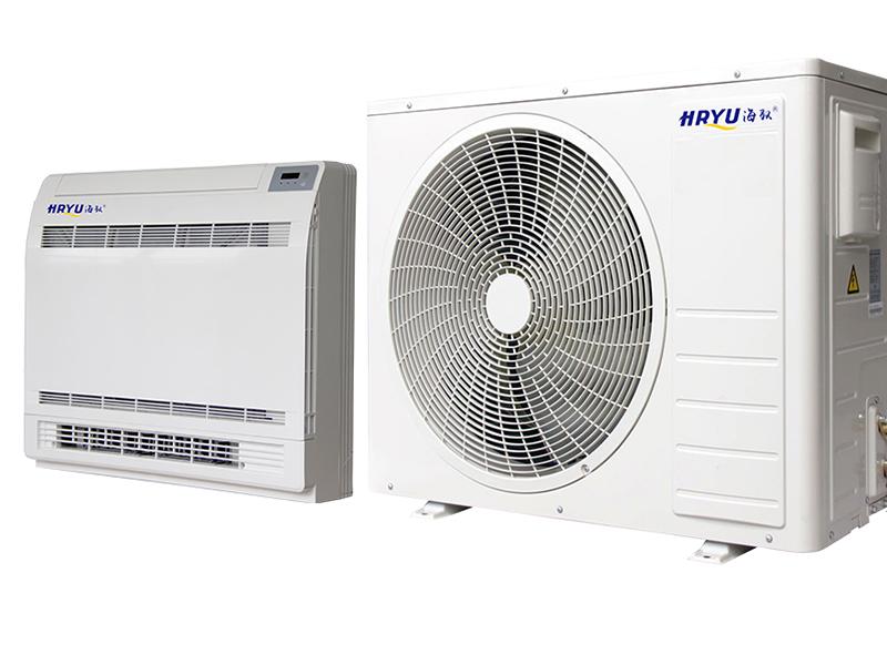 变频超低温空气能热泵热风机