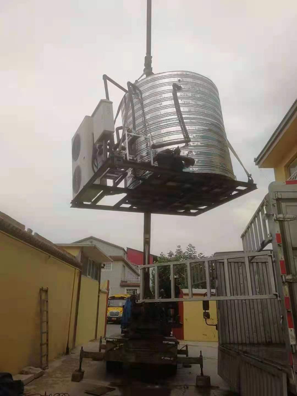沧州连锁酒店中央热水工程采用商用空气能热水整装机组(图2)