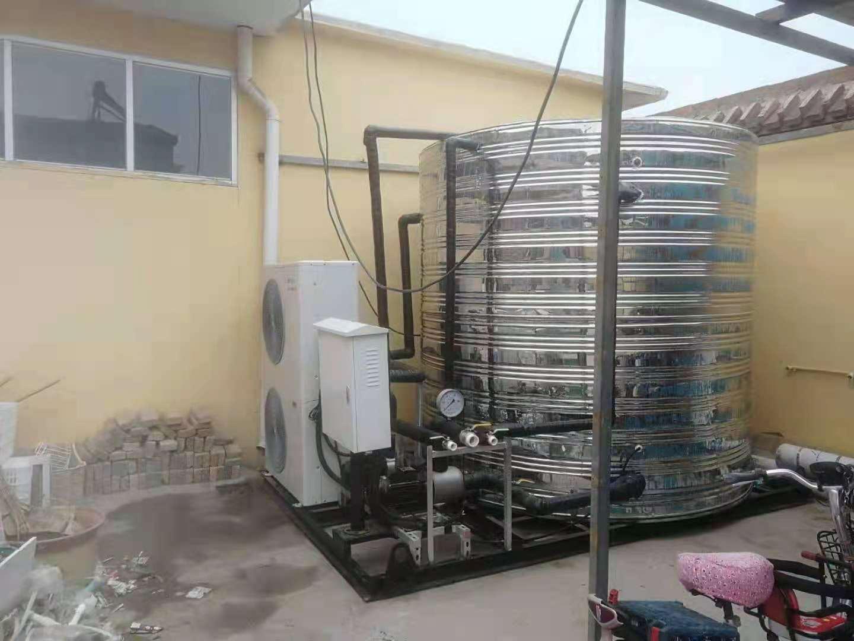 沧州连锁酒店中央热水工程采用商用空气能热水整装机组(图3)