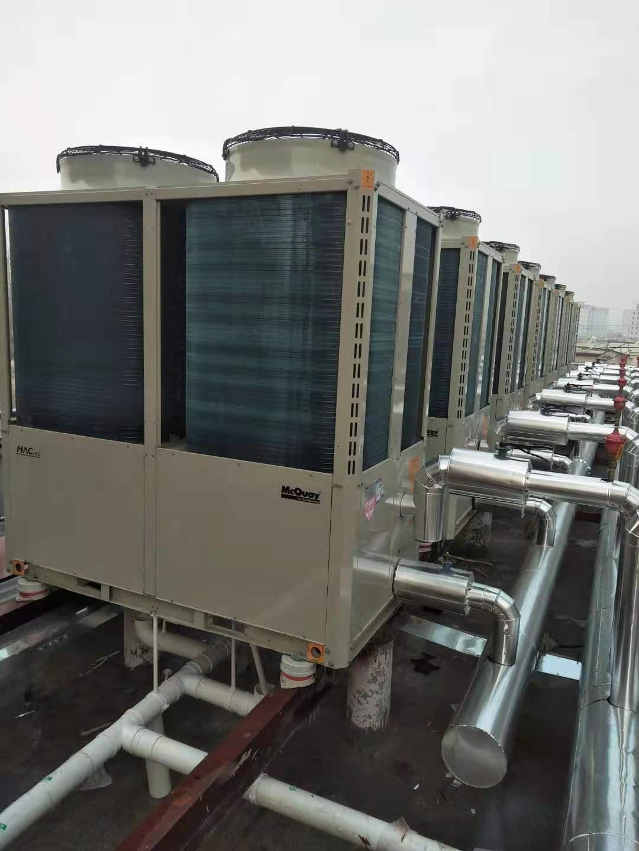 保定黎县天合盛景小区空气能集中供暖项目(图5)