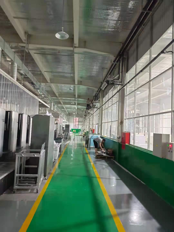 廊坊工厂车间安装空气能冷暖热泵,获得员工认可(图3)