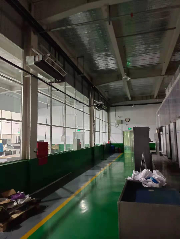 廊坊工厂车间安装空气能冷暖热泵,获得员工认可(图4)