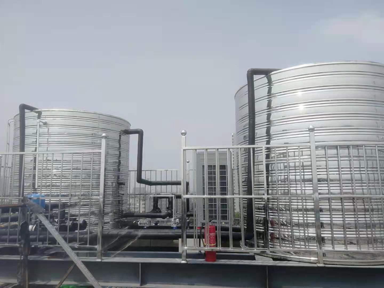 河北石家某连锁酒店采用空气能热泵热水系统,节约看的见!(图1)