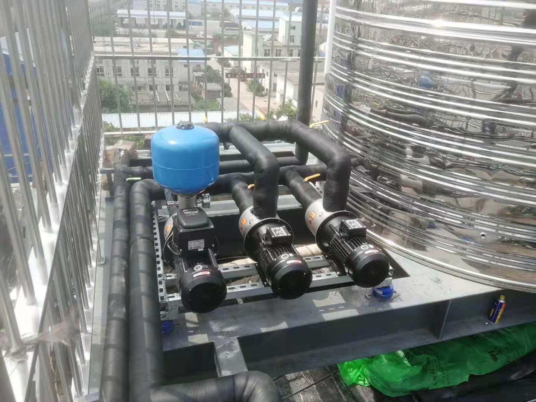 河北石家某连锁酒店采用空气能热泵热水系统,节约看的见!(图2)