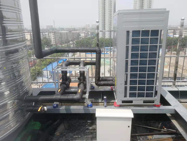 河北石家某连锁酒店采用空气能热泵热水系统,节约看的见!(图3)