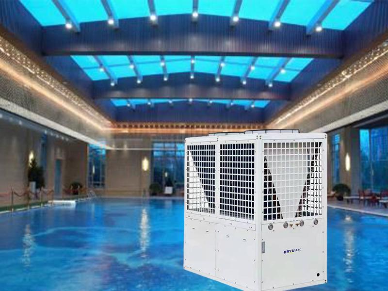 泳池恒温除湿热泵系统解决方案