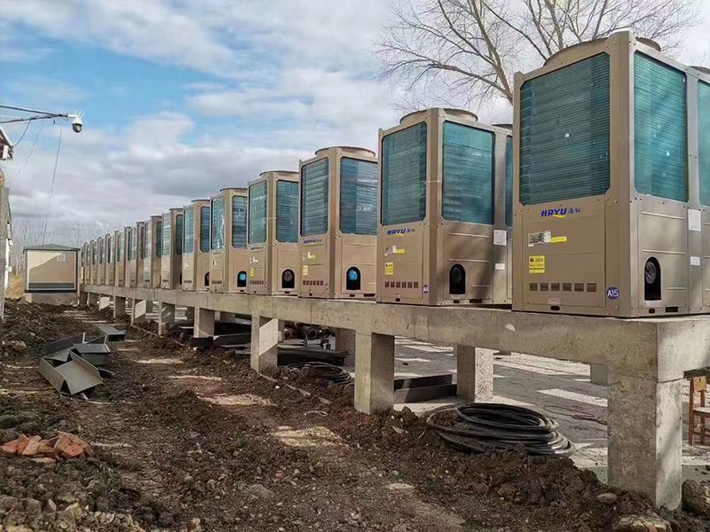 风冷热泵, 水冷热泵,变频多联机 ,空气源热泵两联供差别分析