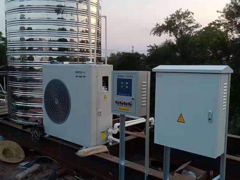 农村新型采暖设备,空气能热泵收到农民朋友认可