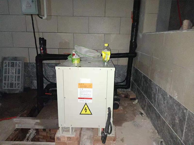 邢台水地源热泵安装施工现场