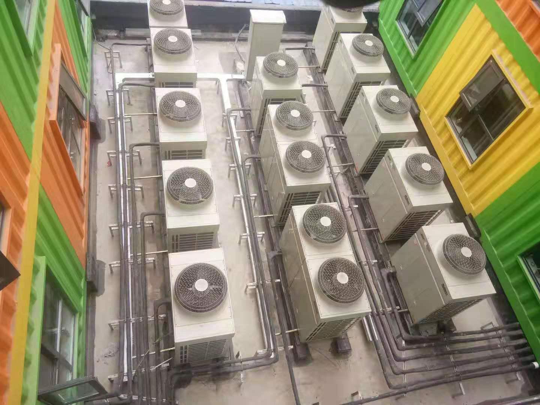 空气能热泵采暖系统有什么组成呢?(图1)