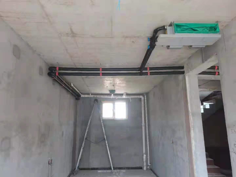 保定别墅采用15P空气能热泵来采暖和制冷