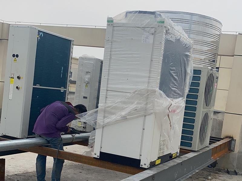商用空气能热水器的主机怎样安装