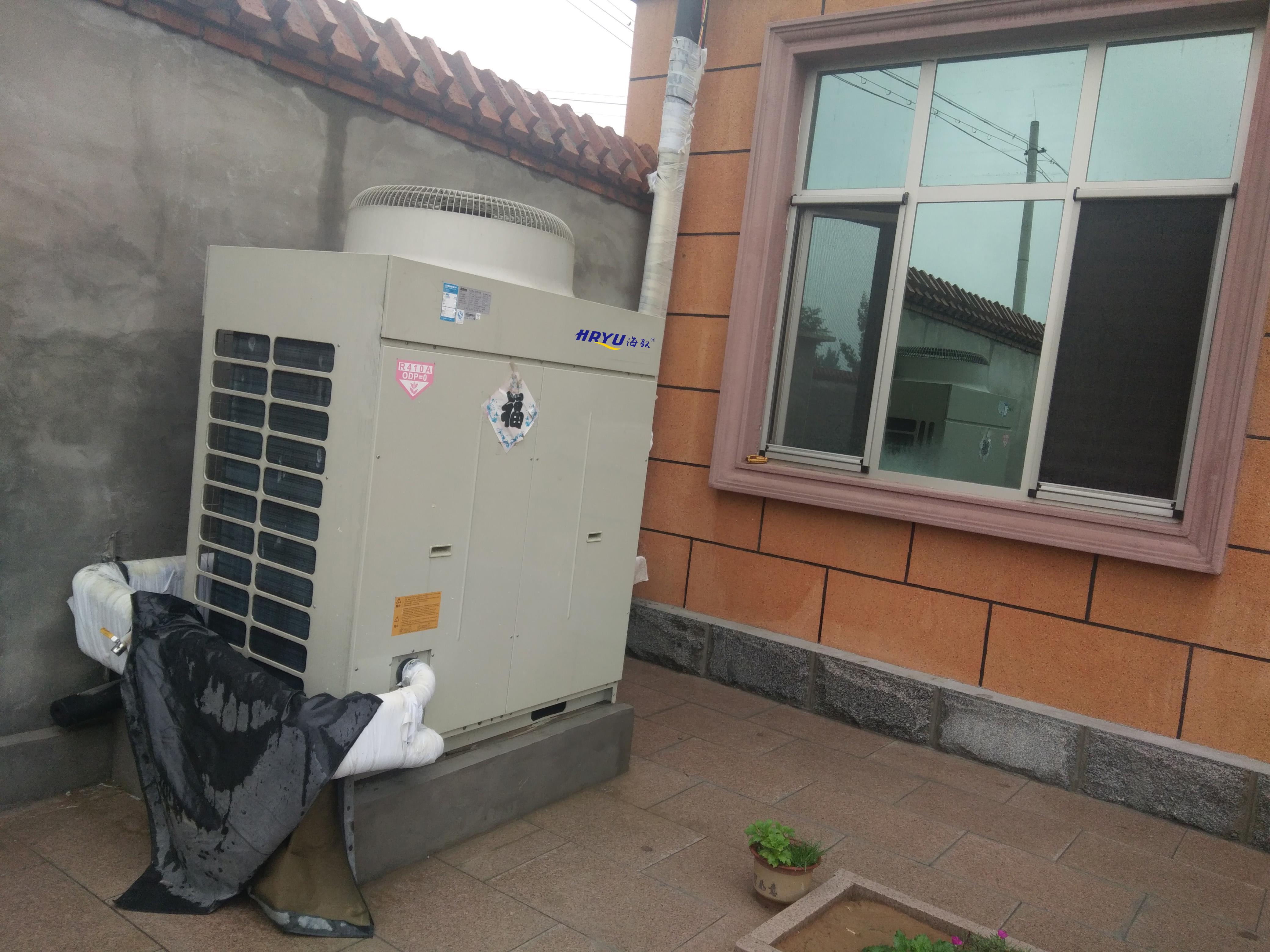 空气能采暖安装注意事项和使用方法(图1)