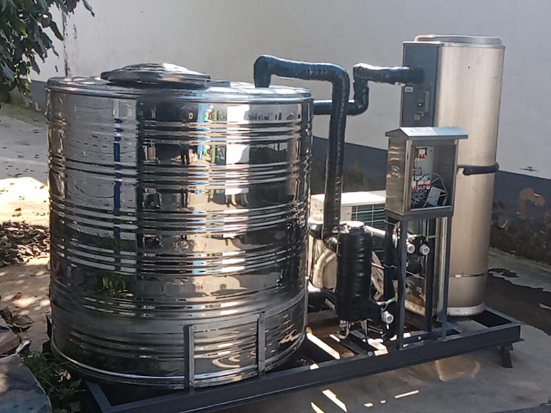 山西理发店用的空气能热水器整装机组